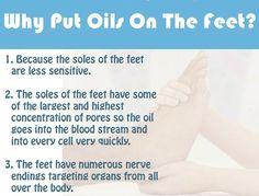 Why put essential oils on the feet? www.greenlivingladies.com www.mydoterra.com/303320