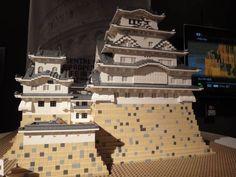 castillo himeji lego