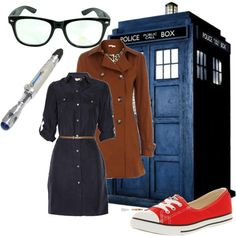 Doctor Who - Female Tenth, created by caitlyn-lutz on Polyvore