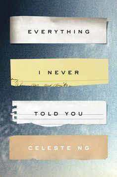 The Best #Books of 2014: Everything I Never Told You by Celeste Ng