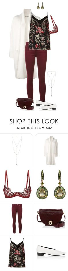 """""""Untitled #53"""" by jaimeishere ❤ liked on Polyvore featuring Luv Aj, Vince, Coco de Mer, Annoushka, 7 For All Mankind, Halston Heritage, River Island and Alumnae"""