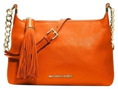 Michael Kors ORANGE TANGERINE MANDARIN Messenger Bag