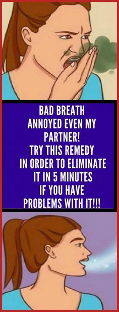 I Had Bad Breath and Even My Partner Was Annoyed! With This Remedy I Eliminated It In 5 Minutes! - Organic Remedies Tips Medicine Book, Herbal Medicine, Natural Medicine, Health Facts, Health And Nutrition, Health Care, Gum Health, Honey And Cinnamon, Bad Breath