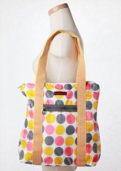 Bungalow360 Polka Dot Nylon Tote Bag $35.00