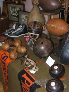 vintage sporting items - awesome collectibles