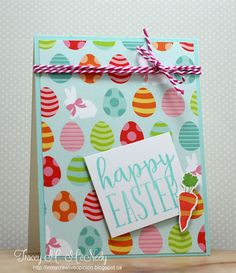 tracey_12K4 - CAS - Bright Easter card