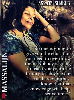 Assata Shakur on Education