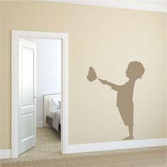 Szablon malarski Wally #wally #homedecor #homedecoration #walldecor #walldecoration #homeinspirations #wallinspirations #interior #design #interiordesign Barn, Wall Decor, Templates, Interior Design, House, Painting, Decoration, Paper, Home Decor
