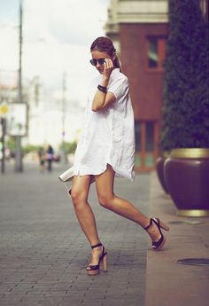 shirt dress chic.