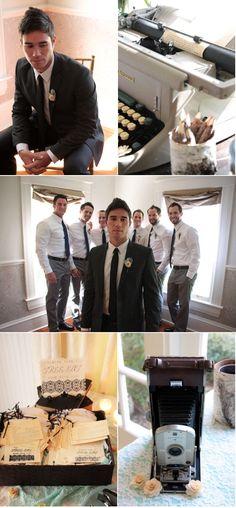 inspiration groom's and groomsmen's suits #wedding