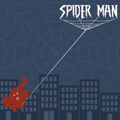 Avengers: Spider Man 12 x 12 Paper