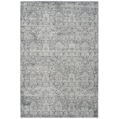 Found it at Wayfair - Vintage Dark Gray / Light Grey Area Rug