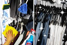 HOW TO CLEAN YOUR CLOSET LIKE A PRO  -  In honor of spring cleaning, we bring you tips on how to clean your closet.