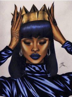 Image result for black girl drawing