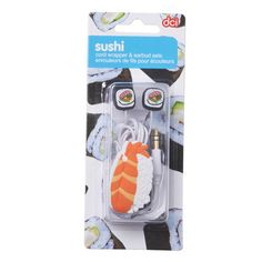 Earbud & Cord Wrapper (Sushi) | QUIRKS