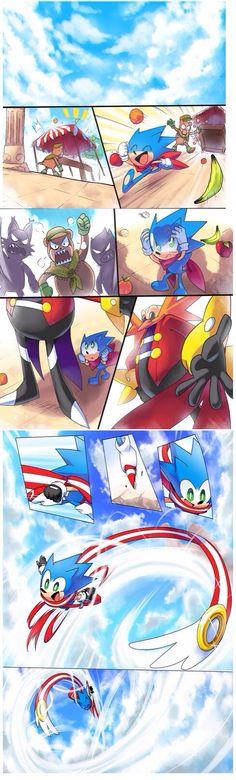 Sonic skyline comic