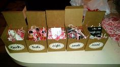 5 Senses Valentines Day Gift - Hear-Mix Tape CD, Smell-Candles, Taste-Candy, See-Batman-esque mask, Feel-massage