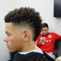 Marvelous Haircuts For Men With Curly Hair Wavy Pomp Cool Faded Mohawk Tapered Men  Haircut Curly Hair New And Latest Hairstyles Hairdo For Men With Wavy Hairs