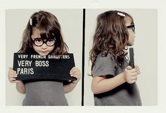 Very French Gangsters eyewear for kids
