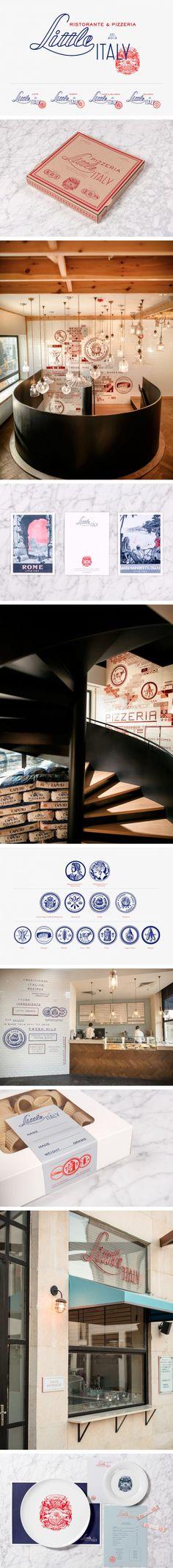 Little Italy Restaurant Branding by Here Design