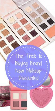 Sale! Shop the makeup you want at prices that won't break the bank! Find brand new cosmetics from top brands like Too Faced, Urban Decay, MAC, Kat Von D, and hundreds more at up to 70% off. Take advantage of daily deals and download the free app now!