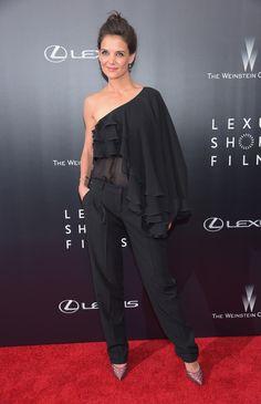 Katie Holmes en Michael Kors, Nueva York Las famosas mejor vestidas de la semana | ActitudFEM