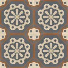 Moroccan Encaustic Cement Pattern Pre Sealed 27d