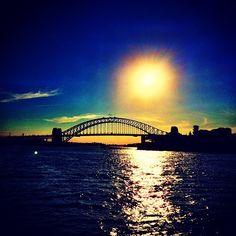 sydney harbour bridge [view from the ferry deck] Sydney Harbour Bridge, Places To See, Deck, Sky, Travel, Heaven, Viajes, Front Porches, Heavens