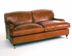 great leather sofa