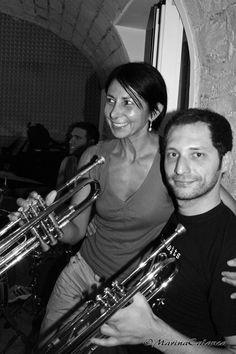 Bruna e Nicola al laboratorio Blues Brothers del venerdì