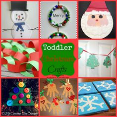 A Plethora of Ponderings: Toddler Christmas Crafts