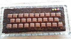 Tastatur-Kuchen mit Schogetten - Motivtorte - Tastatur-Torte