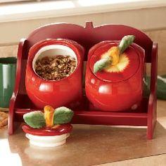 Apple Jar Rack.