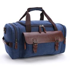10ba20cb49e7 High Quality Canvas Large Capacity Men Shoulder Crossbody Travel Duffel  Bags Women Duffle Handbag