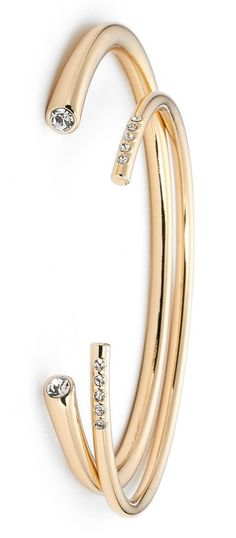 Adding shimmer and glam to any ensemble with these gold cuff bracelets that are definitely an essential.
