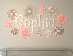 Set of 11 ELEVEN Pink Grey and Polka Dot paper by ThePapierStudio, $33.95
