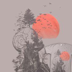Human Tree Hangover | Shirtoid