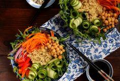 SMYKWKUCHNI: Azjatycka sałatka z cieciorką!