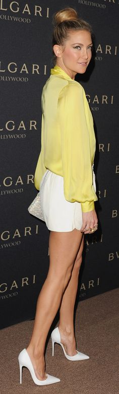 Kate Hudson in Emilio Pucci at Bulgair's Oscars bash.