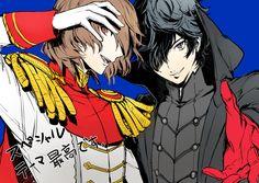 Artist: Cezaria | Shin Megami Tensei: Persona 5 | Akechi Goro | Joker | Kurusu Akira