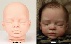 #Reborn before and after How To Tell The Difference in Quality With a Reborn Baby #Doll