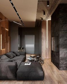 When it comes to choosing a color palette, black never fails!   By Taras Kaminskiy, Veronika Mulieievq  Located in Kiev, Ukraine ▫️▫️▫️ ▪️ Follow @myarchitectures for more amazing Architecture & Design↖ ▪️ Check our other posts  ↖ ▫️▫️▫️ #minimalistic #apartment #interior #contemporary #minimal #luxury #getaway #interiorism #architecture #arquiteto #arquitetos #arquitectura #arquitetura #modern #cities #geometry #geometric #pattern #homedecor #minimal #perspective #interior4you1 #cit