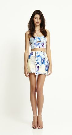 Bec & Bridge Anenome print from their Chromolux Resort 13 collection