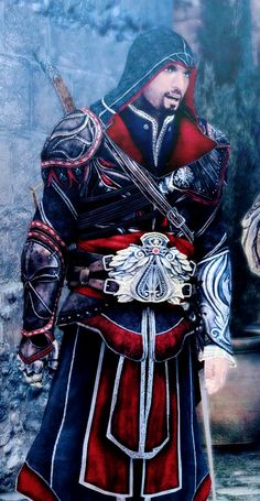 Ezio Auditore Assassin's Creed Brotherhood, Ezio, Assassins Creed Art, Dark Phoenix, God Of War, Super Smash Bros, Rogues, Dungeons And Dragons, Anime Manga