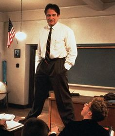 """""""Medicine, law, business, engineering, these are noble pursuits and necessary to sustain life. But poetry, beauty, romance, love, these are what we stay alive for."""" (R.I.P. Robin William's character, John Keating, in Dead Poets Society)"""