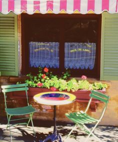 Large french bistro kitchen table and chairs | Table And Chairs Digital Art by George Oze - Table And Chairs Fine Art ...