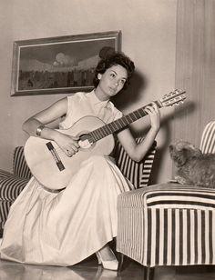 Lea Massari. circa 1958