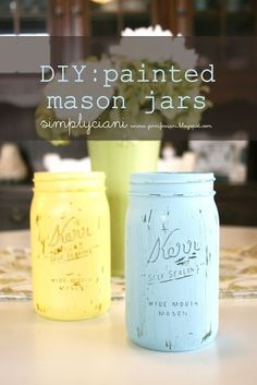 Another Mason Jar Idea!