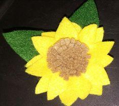 Sunflowers, Felting