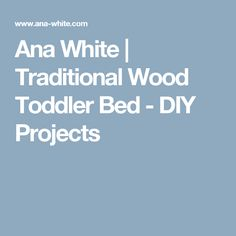 Traditional Toddler Bed With Rustic Headboard